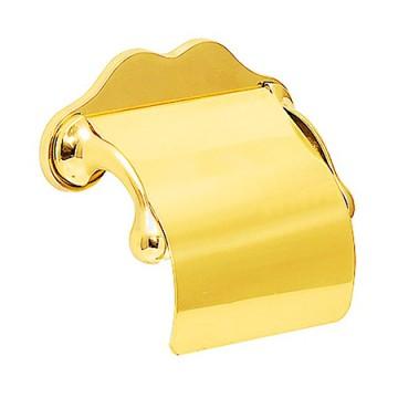 ゴールドに輝く真鍮製 ペーパーホルダー TPH 2