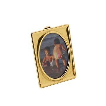 シンプルで使いやすい真鍮製写真立て 額-泉 タテ S-