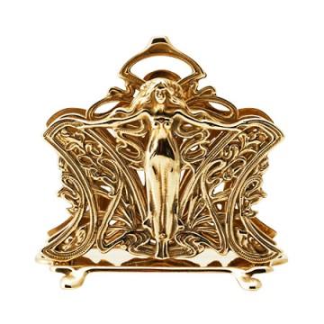美しい女神がモチーフの真鍮製カード立て マドンナ