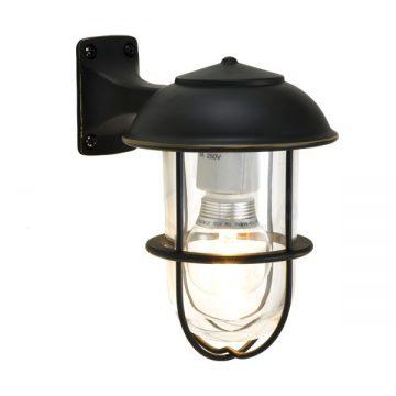人気のマリンランプを小型の屋外用ブラケットライトにしました。