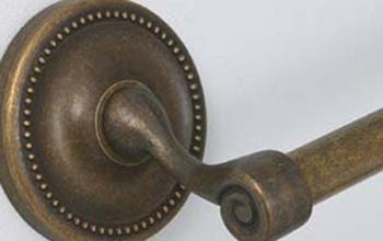 バスアクセサリ 真鍮古色調仕上げシリーズ