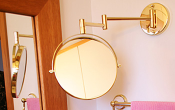 真鍮室内用ミラー コレクション