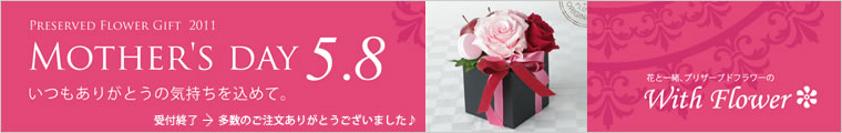 母の日 Mother's Day 2011