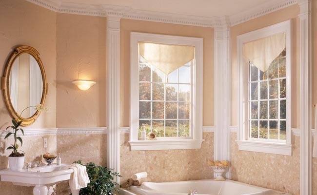 洗面所、浴室のモールディング材
