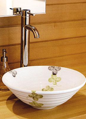 水栓と洗面ボウル置き型イメージ