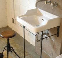 ペデスタルシンク風の洗面